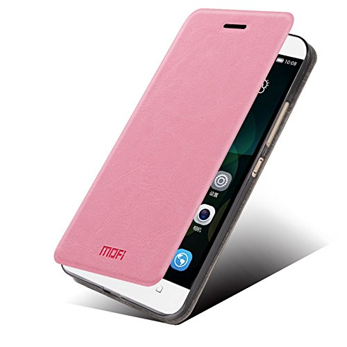Huawei Honor 4c Case - Asmart Stand Pu Leather Cover Soft TPU Back Case Shell for Huawei Honor 4c (Pink)