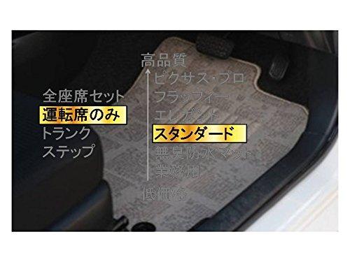 カーマット ホンダ オデッセイ RC1,2 平成25年11月~平成28年2月 8人乗/リアヒーター無運転席のみベージュ-スタンダード B07BRYNLNX 運転席のみ|2ベージュ 2ベージュ 運転席のみ