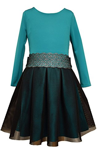 formal denim dress - 8