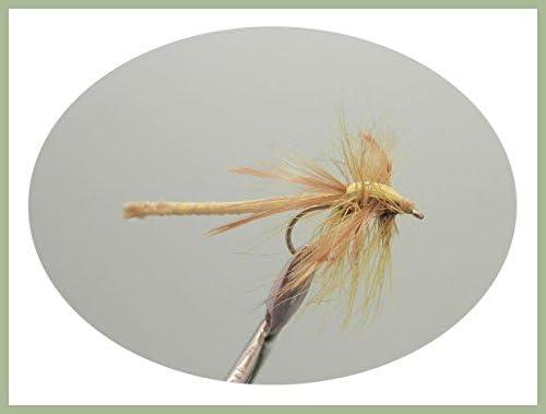 Summer trout Flies Size 10 6 x Red Dragon Fly Fishing Flies Damsel Flies