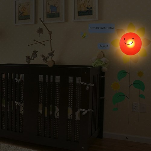 Modern Home Self Adhesive DIY 3D Nightlight - Sunlight