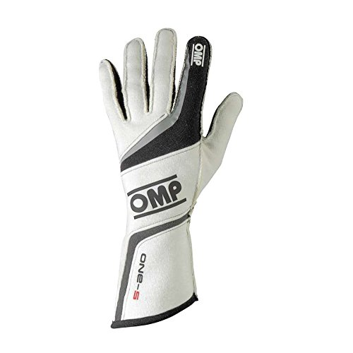 OMP IB//755//W//M One S Gloves, White, Medium