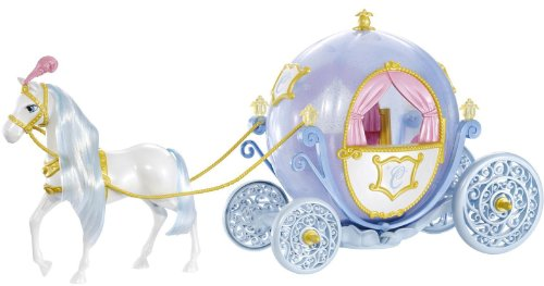Mattel Disney Princess Cinderella Horse and (Disney Horse And Carriage)