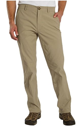 UnionBay Mens Rainier Travel Chino Pants (40W x 32L, Khaki)
