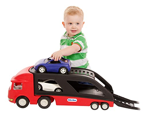 PlayBuild Little Tikes Car Carrier - Red (Little Tikes Car Carrier)