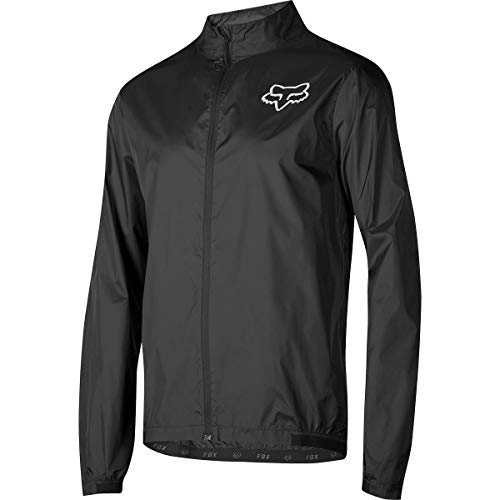 Fox Racing Attack Wind Jacket - Men's Black, XXL