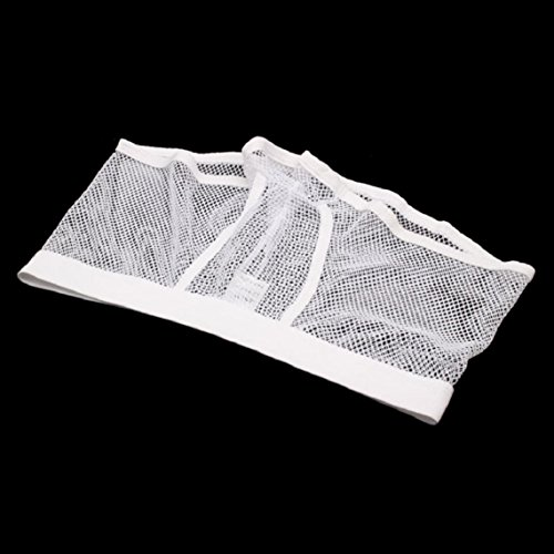 À Boxer Pantalon Slip Court Transparent Sous Travers Amison Bianco Nouveau Maille vêtements Hommes Voir vwqZ0