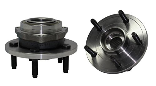 Brand New (Both) Front Wheel Hub and Bearing Assembly 5 Lug W/o ABS