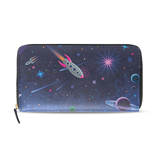 Credit Bags PU Wallet Clutch Women Long Leather Drawn Purse Hand Holder Space BENNIGIRY Card UpqvOww