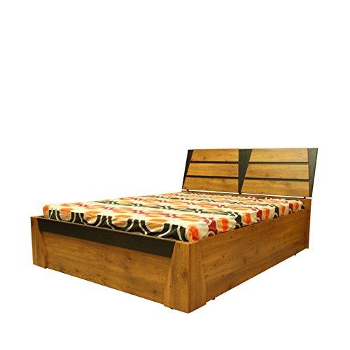 Evok Texas Engineerwood Queen Bed with Storage