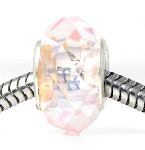 Glass Charm Bead for Charms Bracelets ()