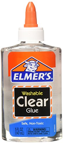 Elmer's washable clear glue 4 count -  E305