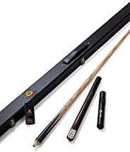 MA 3/4 Jointed Handmade ash snooker/Pool Cue O'min brand billiard cue+Cue