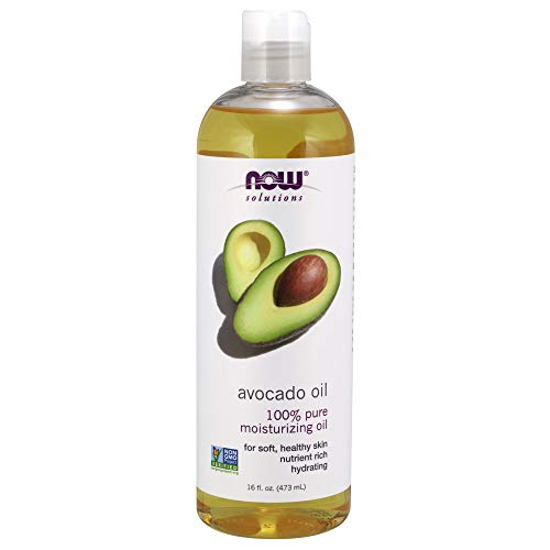 - NOW Solutions, Avocado Oil, 100% Pure Moisturizing Oil, Nutrient Rich and Hydrating, 16-Ounce