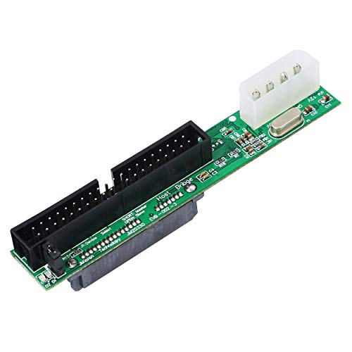 SinLoon SATA Female to 40 pin Male 3.5 inch IDE Adapter for PC and Mac Computer to SATA Hard Drive Interface Adapter(SATA F/3.5 M)