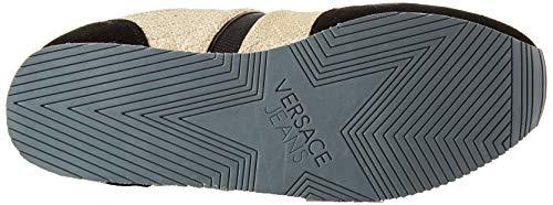 Zapatillas Scarpe de Dorado Jeans Donna E901 para Mujer Versace Gimnasia Oro qIt6xwTB5
