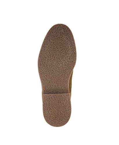 THURSO de hombre botas de ante marrón