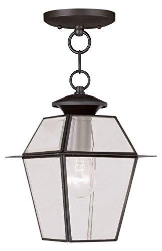 Bronze Hanging Lantern by Livex Lighting