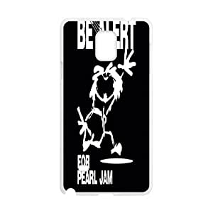 Custom Case Pearl Jam Band for Samsung Galaxy Note 4 N9100 J9K2238052