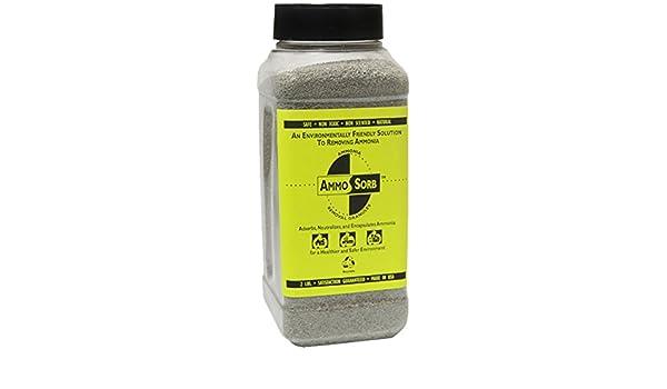 AMMOSORB Natural Acuario Amoniaco Remover de aromas: 2 Lb. Uso en tanque o Filtro: Amazon.es: Hogar