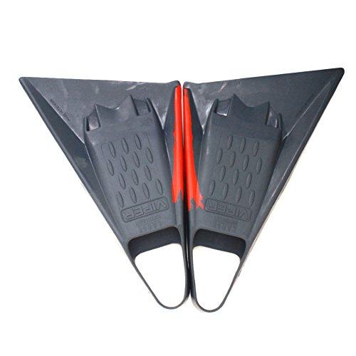e5c768d7f1 Science Unisex Mike Stewart Viper Delta Swim Fins Grey Red L