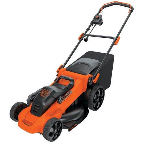 0R 13 Amp 20 in. Electric Lawn Mower (Certified Refurbished) (Black & Decker Push Mower)