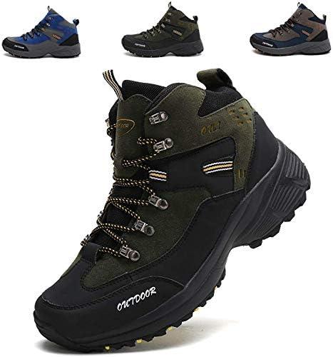 トレッキングシューズ メンズ 防水 防滑 ハイキングシューズ アウトドア キャンプ シュー ズ 軽量 耐磨耗 登山靴