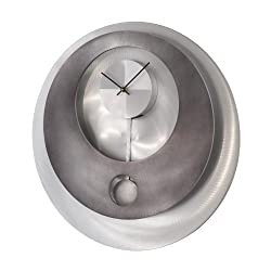 Nova Lighting 3710180 Vendome Pendulum Wall Clock