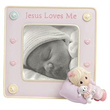 Amazon Precious Moments Jesus Loves Me Baby Girl Frame 5
