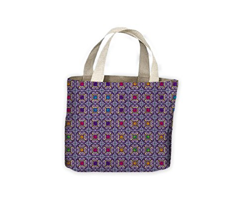 Tile Shopping Bag Life Tote Geometric For Geometric Tile qEwBfpPw