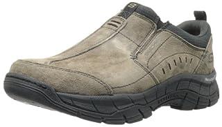 029c2674 Skechers Men's Rig Mountain Top Relaxed Fit Memory Foam Sneaker ...