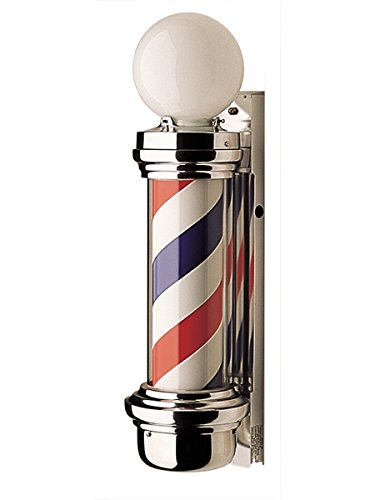 - BR Beauty Marvy Barber Pole w/ 2 Lights #55-2