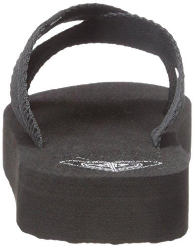 Cayman Wedge Sandal Black Sandal Women Roxy gqc7U0P