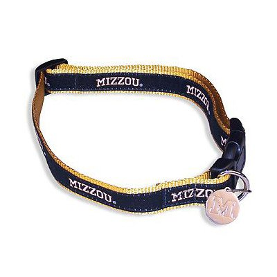 NCAA Missouri Tigers Dog Collar, Medium/Large