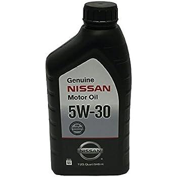 Genuine nissan fluid 999mp 5w30ep 5w 30 ester for Nissan versa motor oil