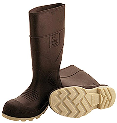 Tingley Rubber Pvc Knee Boot Plain Toe Brown 11 - 51144