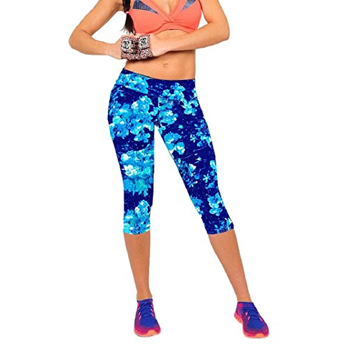 Shensee Stretch Cropped Leggings Fitness