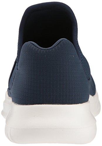 Mens Skechers Andare Correre Mojo-mania Sneaker Blu / Bianco