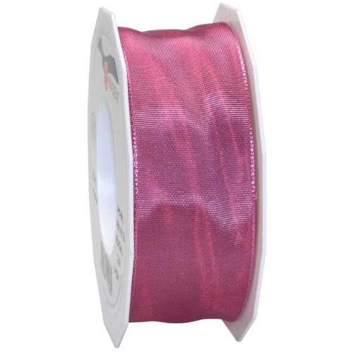 Ribbons Roses Florist - Morex Ribbon French Wired Lyon Fabric Ribbon, 1-1/2-Inch by 27-Yard, Dusty Rose