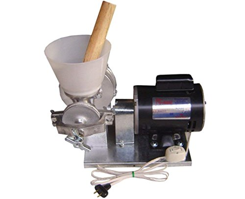 Made in Mejico Authentic Mexican Electric Feed/Flour Grain Cereals Coffee Wheat Wet&Dry Corn Mill Grinder Molinos Trituradores Electricos (Molino De Maiz)