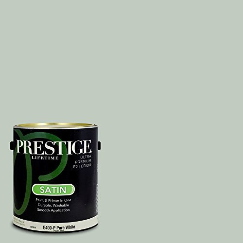 Club Inn - Prestige Paints Exterior Paint and Primer In One, 1-Gallon, Satin,  Comparable Match of Valspar Carolina Inn Club Aqua
