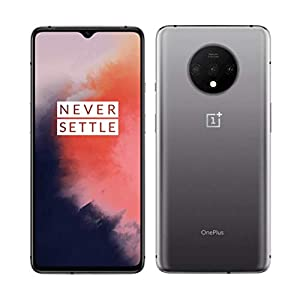 OnePlus 7T 8GB RAM 128GB ROM US Model HD1905 Factory Unlocked 6.55 inch AMOLED 90Hz Display Dual SIM Frosted Silver US Warranty