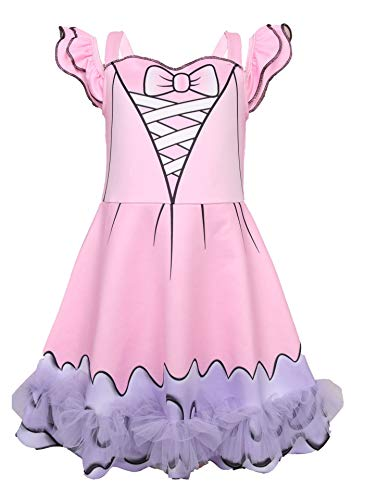 Little Girl's Doll Surprised Dress Princess Halloween Party Cosplay Costume -