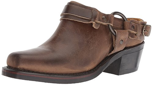 FRYE Women's Belted Harness Mule,