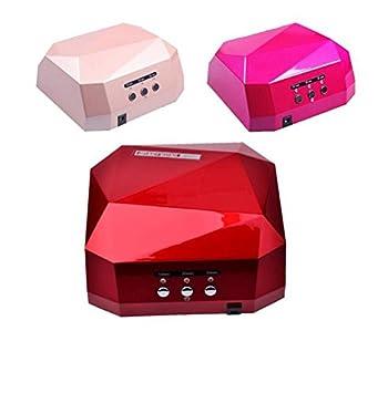 MZP máquina cocción LED + UV clavo impresora uñas lámpara 36 ...