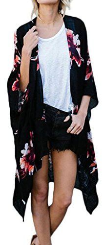 Floral Print Silk Shell : - 4