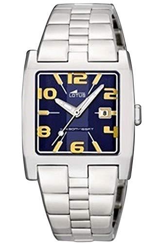 Lotus Lady Womens Analog Quartz Watch with Stainless Steel Bracelet 15350/7