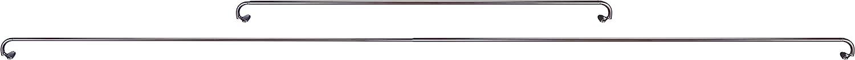 71 to 122 cm Black Basics Room Darkening Curtain Rod