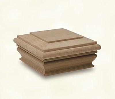 Woodway Products Cedar Flat Top Post Cap