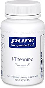 Pure Encapsulations - l-Theanine - Hypoallergenic Supplement Promotes Relaxation and Helps Moderate Occasional Stress* - 120 Capsules